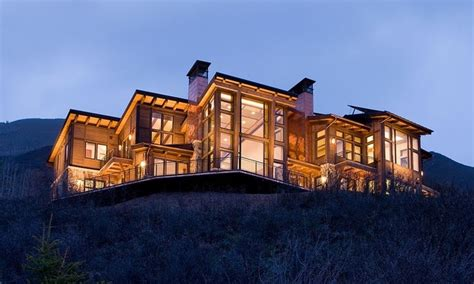 imposing contemporary home in aspen colorado nighthawk aspen colorado contemporary exterior