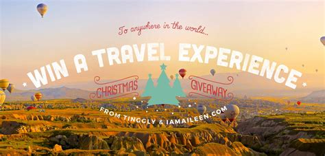 Win Christmas Giveaway - christmas giveaway win a tinggly travel experience to anywhere in the world i am