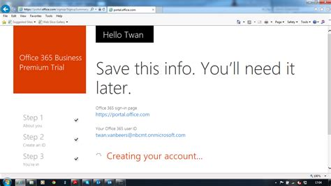 Office 365 Mail Create Account Setting Up A New Office 365 Tenant Nero Blanco End To