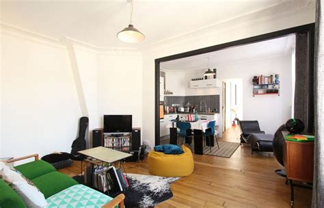 Small Apartment Living Room Ideas visite d un appartement moderne 224 paris aufeminin com