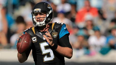 chad henne benched jaguars bench qb blake bortles amid continuing struggles