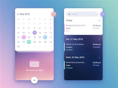 app design ideas n calendar app concept by prakhar neel sharma dribbble