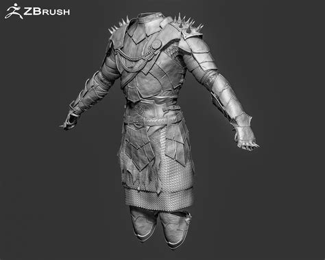 free download cgtrader models zbrush armor 3d model ztl cgtrader