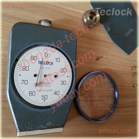 Hardness Tester Teclock durometer hardness tester calibration and repair ydbay
