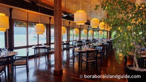 bora bora restaurants  fine dining