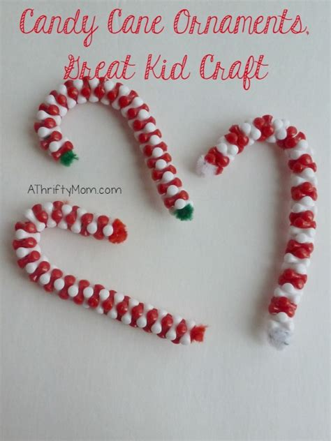 candy cane ornament great kid craft