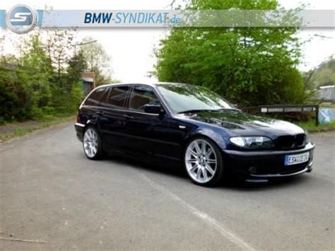 Bmw E46 Touring Tieferlegen by 330i Touring Mit 19 Quot 3er Bmw E46 Quot Touring Quot Tuning