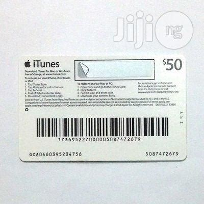 apple itunes gift card $50 for sale in ikeja   buy