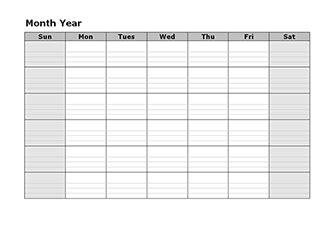 blank monthly school calendars blank calendar template free printable blank monthly