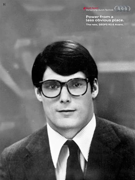 christopher reeve as clark kent audi features christopher reeve as clark kent creativity