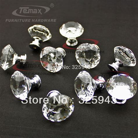 Clear Glass Knobs And Pulls by 200pcs 30mm Zinc Alloy Clear Glass Glass Cabinet