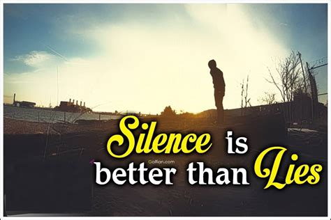 Silence Is Best Quotes