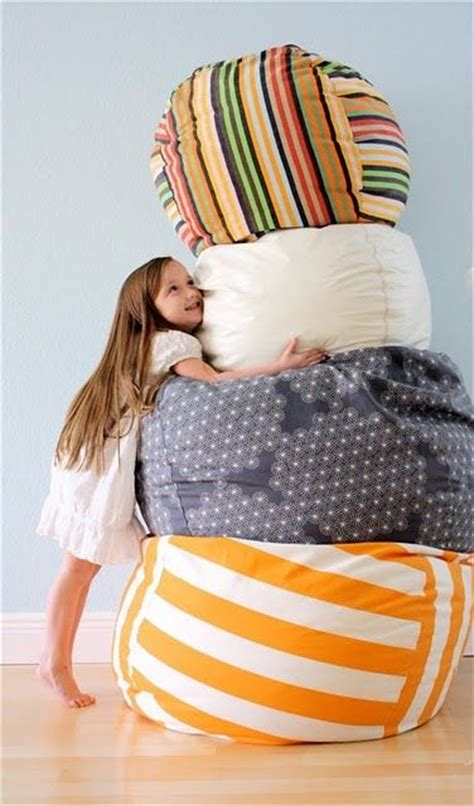 photo bean bag diy rollie pollie bean bag chair bags and tutorials