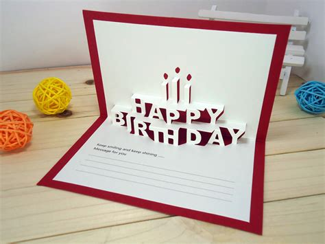 How To Make Cool Cards Out Of Paper - 8 cool and amazing birthday card ideas hazelnut corner