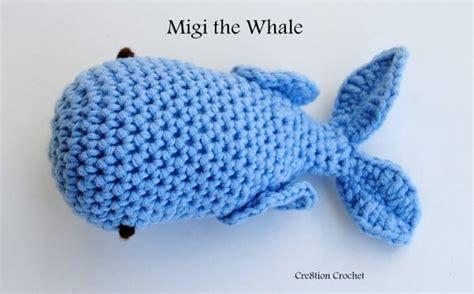amigurumi pattern whale whale amigurumi pattern cre8tion crochet