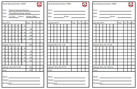 3d archery score card template 24 images of archery scorecard template canbum net