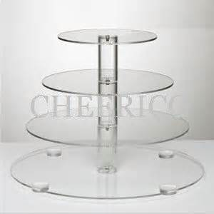 4 tier cake stand 4 tier maypole wedding acrylic cupcake stand tree tower cup cake display ebay