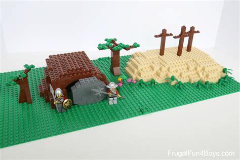 build a lego resurrection garden frugal for boys and