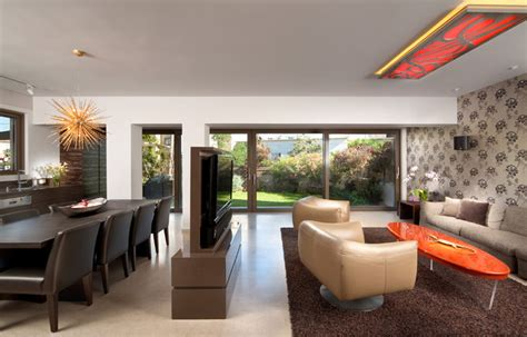 living room bar houzz living room contemporary living room other by elad