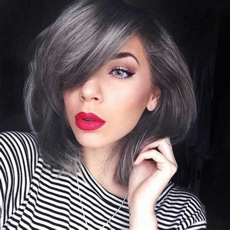 Grey Hair Style For Black by These Days Most Popular Grey Hair Ideas