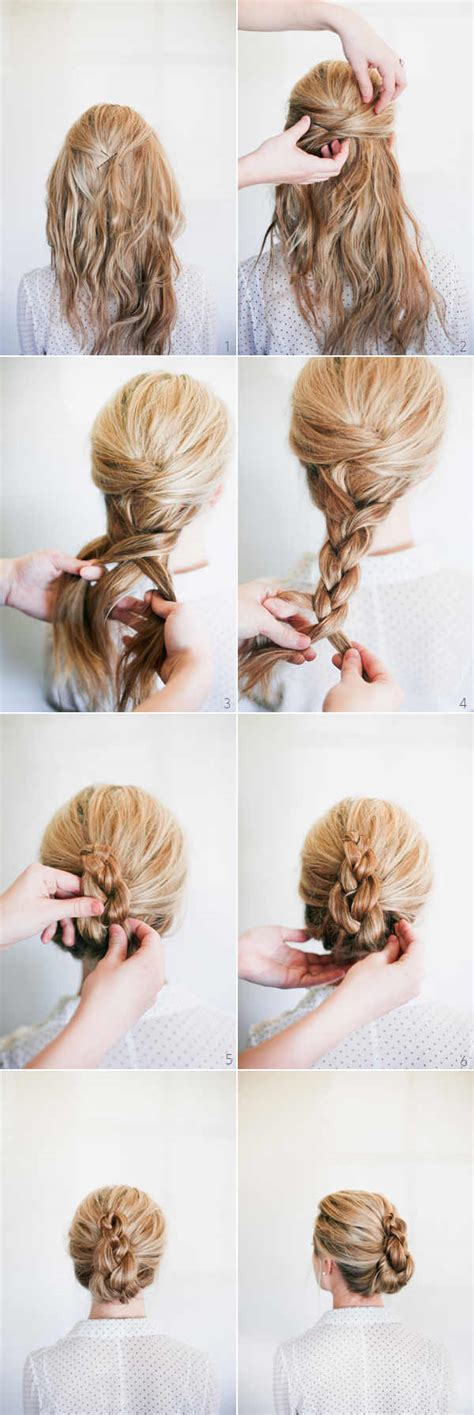 Wedding Hair Up Step By Step Guide by 10 Easy Wedding Updo Hairstyles Step By Step Everafterguide
