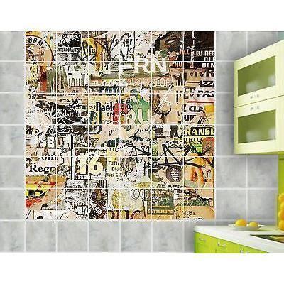 sticker carrelage mural faiencedeco cuisine salle de