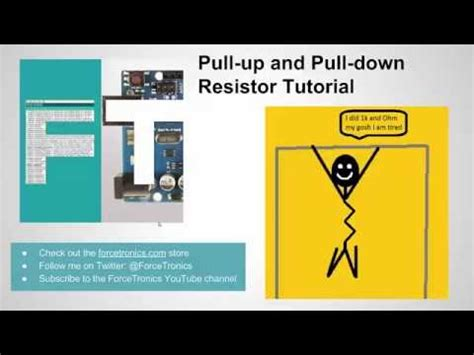 resistors tutorial electronics 201 pull up and pull resistors doovi