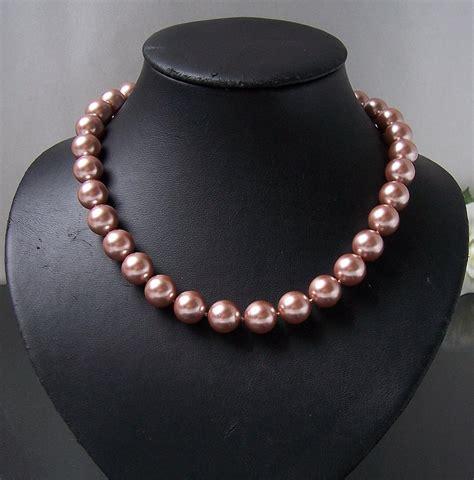 Hochzeit Set Perlen by Perlenkette Perlen Armband Ohrringe Muschelkernperlen