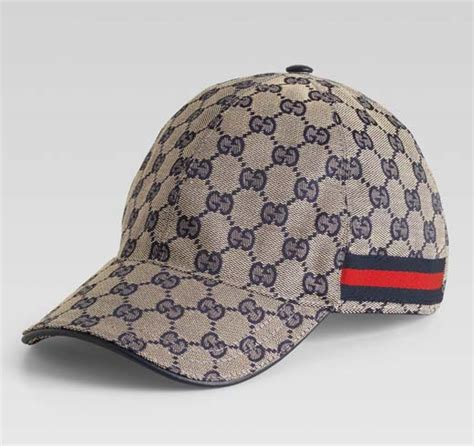 gucci s baseball hat beige blue original gg fabric
