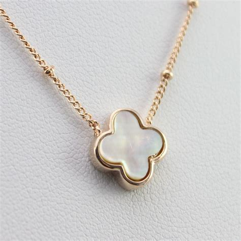 necklace for fashion clover necklace for luxury statement brand