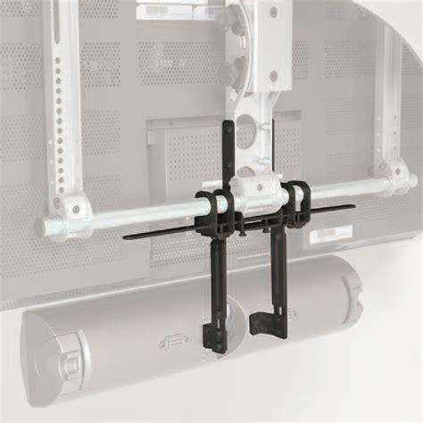 Braket Atau Mounting Senter sanus center channel speaker bracket black vmcc1 b