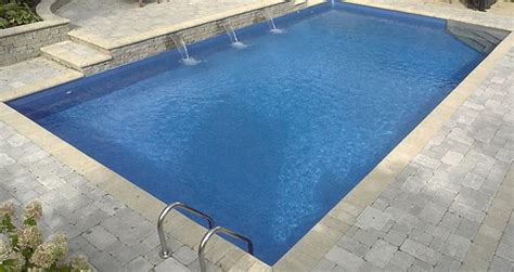 Solar Ground Lights - 16 x 32 ft rectangle 6 inch round corners inground pool basic pool supplies canada