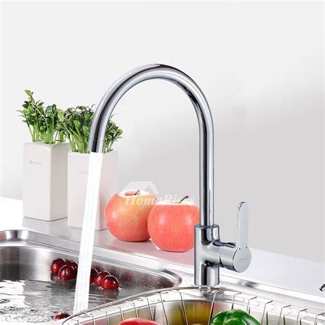best single handle kitchen faucet best kitchen faucets single handle rotatable gooseneck