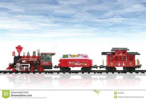 Imagenes De Navidad Tren | tren de la navidad fotos de archivo imagen 3849843