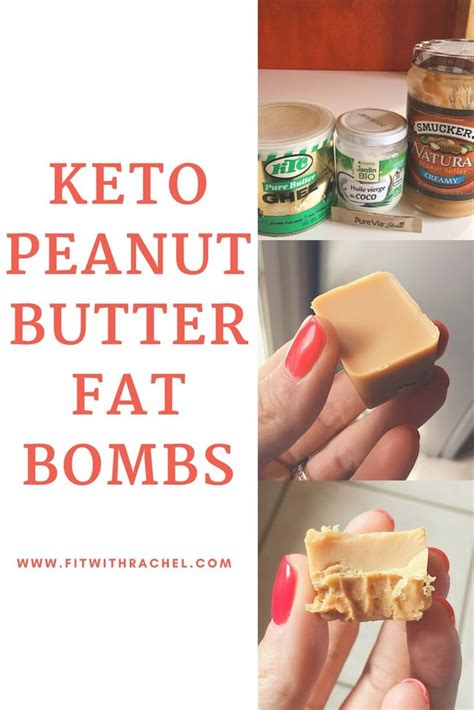 peanuts and healthy fats keto peanut butter bombs fit with