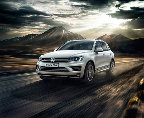 volkswagen touareg available in new r line plus trim 4x4