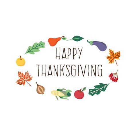 thanksgiving card template free illustrator vector happy thanksgiving card template isolated stock