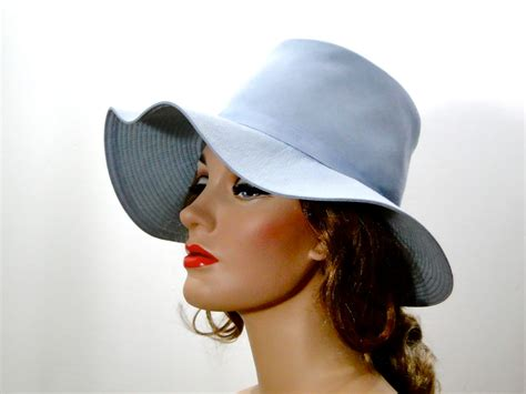 vintage 1960s hat womens mod floppy 60s hats by sueellensflair
