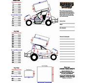 Back &gt Gallery For Sprint Car Graphics Template
