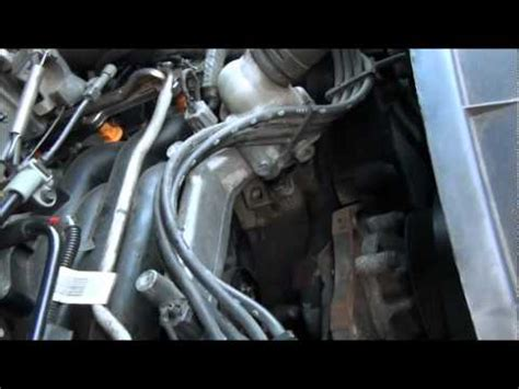 ford 4.6 , 5.4 , 6.8, heater hose under intake replacement