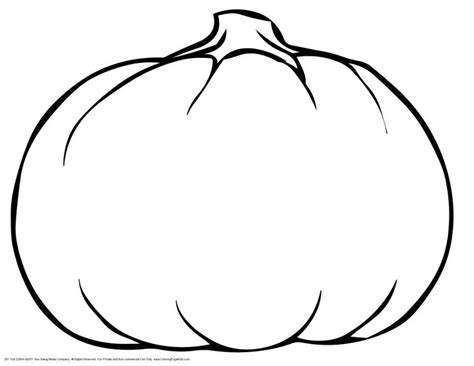 pumpkin coloring template pumpkin outline printable coloring home