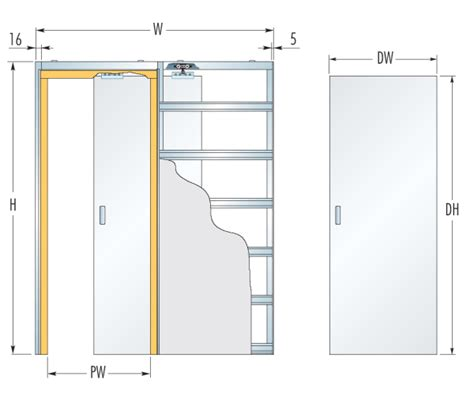 glass door dimensions