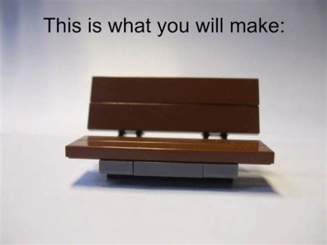 how to make a lego bench how to make a authentic lego bench perfect for animators