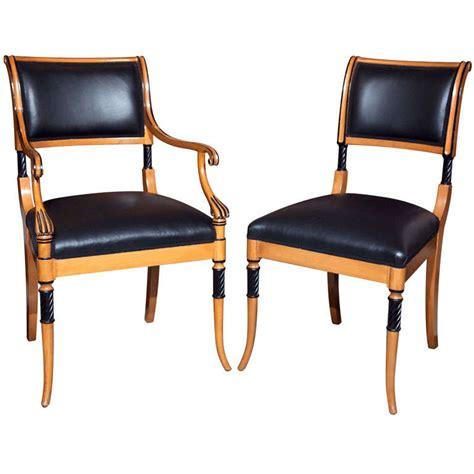 Regency Style Dining Chairs Set Of Ten Regency Style Dining Chairs For Sale At 1stdibs