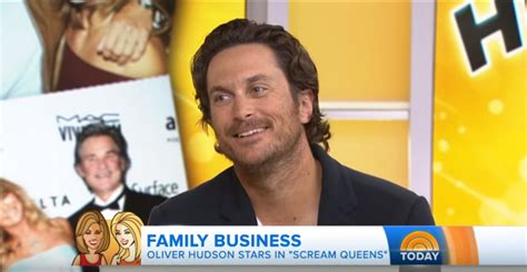 oliver hudson today scream queens oliver hudson on quot the today show quot scream