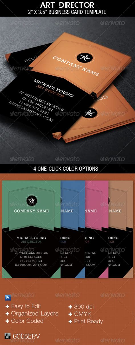 filmmaker business cards templates director business card template graphicriver
