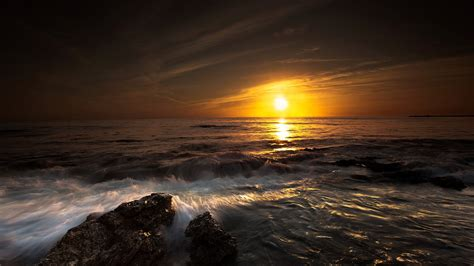 wallpaper hd 1920x1080 ocean download sunset ocean wallpaper 1920x1080 wallpoper 365227