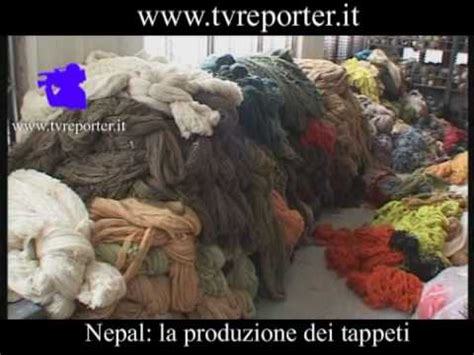 fabbrica tappeti nepal la produzione dei tappeti