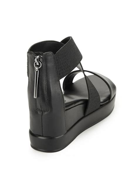 how to stretch leather sandals connection pelle stretch leather platform wedge