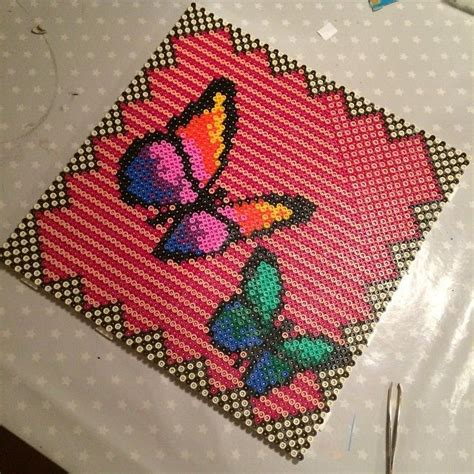 17 best images about hama butterfly on perler
